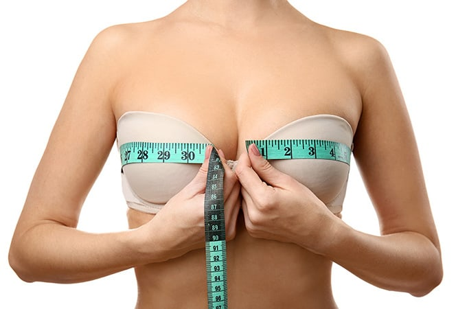 Measuring breast lift surgery