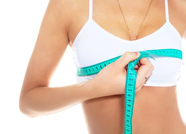 Measuring breast reduction surgery